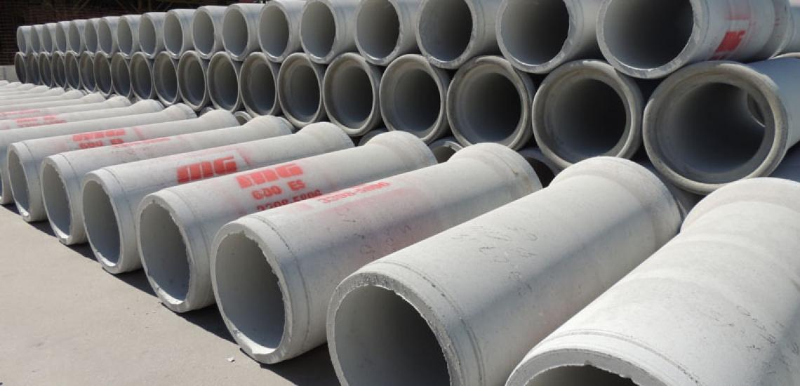Nova linha de produção de tubos com junta elástica entra em operação.